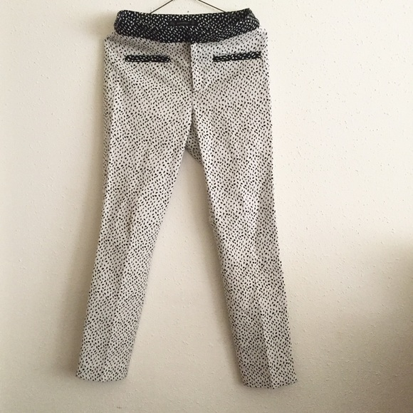 69681421 Zara Pants | Dot Printed | Poshmark